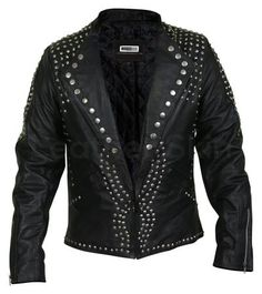 Best Leather Jackets for Men Page 3 - Leather Skin Shop Spiked Leather Jacket, Long Leather Coat, Leather Jacket With Hood, Leather Men, Black Leather, Best Leather Jackets, Stylish Jackets, Jacket Style, The Ordinary