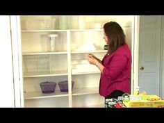 Kitchen Organization - Containers and Labeling for the Pantry