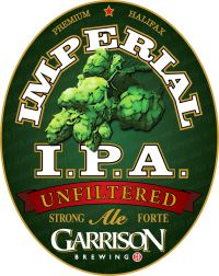 Garrison Brewing Co. Canadian Beer, Beer 101, Beers Of The World, Beer Label, Brewing Company, Ipa, Food And Drink, English, Craft