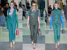 Miuccia Prada's 'ironic' yet utterly wearable offering - Telegraph