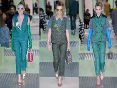Miuccia Prada's 'ironic' yet utterly wearable offering - Telegraph