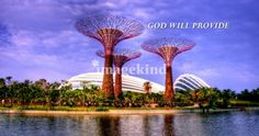 God will provide, Garden by the Bay Singapore Art Prints by Forever Summer Design - Shop Canvas and Framed Wall Art Prints at Imagekind.com