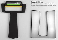 카드 면도기, Carzor: A Card-shaped Razor.