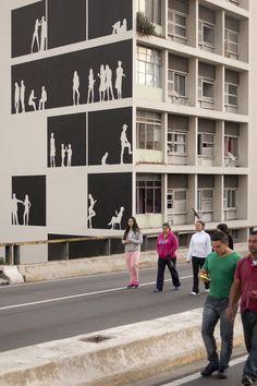 """Galeria - Arte e Arquitetura: """"Empena Viva"""" por Nitsche Projetos Visuais - 7"""