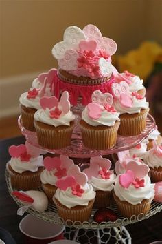 Picture Only - Valentine Cupcakes