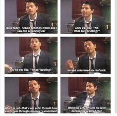 Jared takes his pranking seriously.