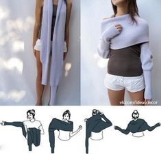 Neat wrap/sweater/scarf/sleeves thing