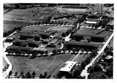 Aerial view of Westminster Hospital, London, Ontario