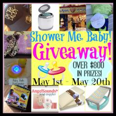 Shower Me Baby Giveaway ~ Over $800 in Prizes!! Strong Tower, LLC