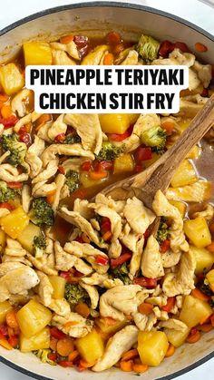 Crockpot Recipes, Cooking Recipes, Stir Fry Recipes, Health Dinner, Healthy Dinner Recipes, Healthy Crock Pot Meals, Quick Meals, Food Dishes, Asian Recipes