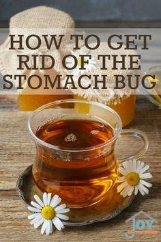 Learn how to get rid of the stomach bug with this natural remedy.