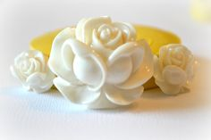 0555 Rose Flower Trio Silicone Rubber Flexible Food by MasterMolds