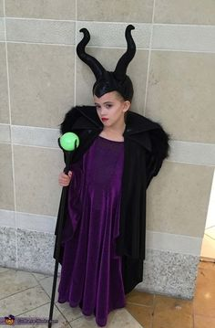 Totally fierce Maleficent Halloween costume