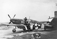 "Nödlandare från USA -North American P-51B-5-NA Mustang ""Hot Pants"" - Serial # 43-6461"