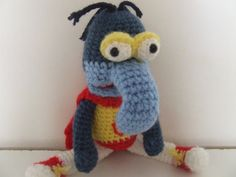 Gonzo from Muppet Show inspired plush by ToyzandDollz on Etsy, $22.00