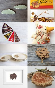 Meat Pies and Kangaroos by Kelly on Etsy--Pinned with TreasuryPin.com #awtreasuries