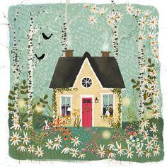 Garden Dream no. 3 by Joy Laforme on Artfully Walls