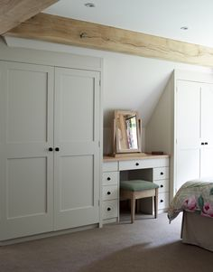 If you don't have an attic closet, after that you should promptly install it. Due to the fact that attic closet are one of the most reliable storage. Bedroom Attic Bedroom – How to Decorate Attic Bedrooms Loft Room, Bedroom Loft, Bedroom Decor, Loft Bathroom, Attic Bedroom Closets, Bathroom Ideas, Small Attic Bedrooms, A Frame Bedroom, Storage For Small Bedrooms