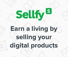 Ganhar a vida com a venda de seus produtos digitais em Sellfy. Inscreva-se gratuitamente