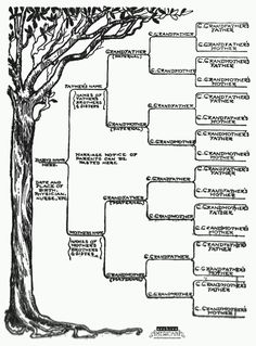 free family tree template printable