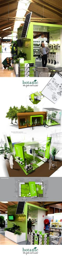BOTANIC space development on Behance