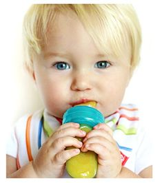 Nuby EZ Squee-Z Silicone Self Feeding Baby Food Dispenser  Colors May Vary