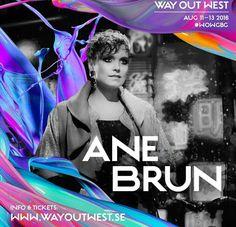 Ane Brun to play @wayoutwestgbg this August. #WOWGB
