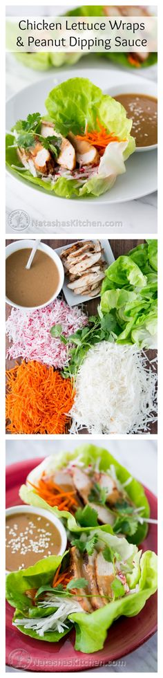 Chicken lettuce wraps!