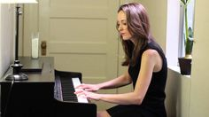 """Claire Plays """"Still Alive"""" from Portal - HD - Thinking with Pianos. :D"""