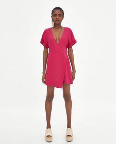 ZARA - WOMAN - CROSSOVER JUMPSUIT DRESS