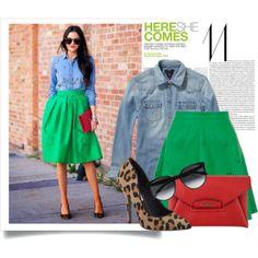 Street Style ----jean fashion