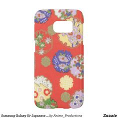 Samsung Galaxy S7 Japanese Floral Circles Case Samsung Galaxy S7 Case