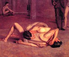 Thomas Eakins' Wrestlers