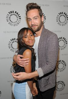 nicole beharie + tom mison