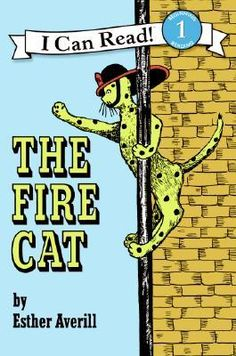 "The Fire Cat by Esther Averill.  Pinner writes: ""One of my favorite books.  I highly recommend it for adults & kids with ADD.  About a cat who clashes everywhere he goes.  Finally he gets adopted by the fire department and turns out, that's a perfect fit for who he is.  The book's point: You're not bad; you're just not fitting in where you are."""