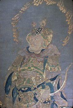 Buddhist Guardian King, Ming dynasty (1368–1644). China. The Met