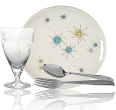Get replacement: Starburst by Franciscan China, Stardust by Fostoria, Twin Star Stainless by Oneida