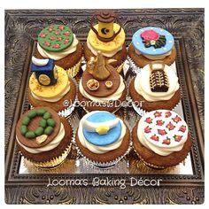 مجموعتي ل كب كيك رمضان Ramadan Cupcake Collection Eid Cakes, Cupcake Cakes, Cupcakes, Ramadan Sweets, Ramdan Kareem, Cake Shop, Cakes And More, Cooking Ideas, Cake Cookies
