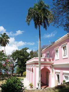 Casa Rosada (Pink House) in Old San Juan, Puerto Rico.