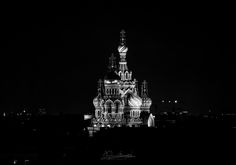 Church of the Savior on Blood – AANESTAD IN BLACK & WHITE