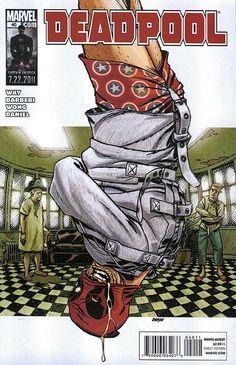 Marvel Deadpool comic issue 40