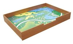 @Jodi Schlafer Whitsitt, this is like a train table tray.  maybe that would be easier to build?