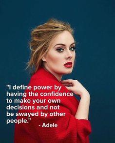 Adele is everything! #adele #adelequotes #quote