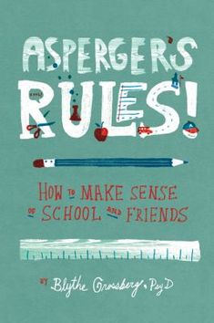 A large part of school isn't just taking tests, reading, and writing-it's knowing the rules for behavior in the classroom and learning how to communicate with teachers and classmates. This book makes school easier for kids with Aspergers by explaining the confusing-and often unwritten-rules of the classroom. Aspergers Rules is filled with examples, quizzes, and exercises to help you.