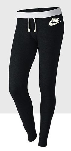Women's Nike Workout Clothes    Running clothes   gym clothes The Rally tights. A classic look & worn in feel. http://www.FitnessGirlApparel.com