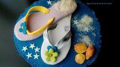 Flip Flop Cake Topper