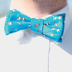 Quite Fetching    Dog lovers can tie one on in honor of man's best friend