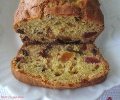 Bloc de recetas: Plum Cake de frutas