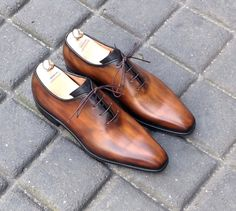 Caulaincourt shoes - Riva - wood brown