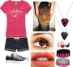 """My Outfit to an R5 Concert"" by r5-fashion ❤ liked on Polyvore"